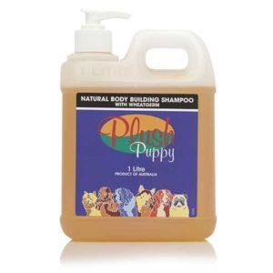 Natural-body-building-shampoo-with-wheatgerm-šampon-pro-objem-srsti-pšeničné-proteiny,-d-panthenol-1000ml