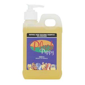 Natural-body-building-shampoo-with-wheatgerm-šampon-pro-objem-srsti-pšeničné-proteiny,-d-panthenol