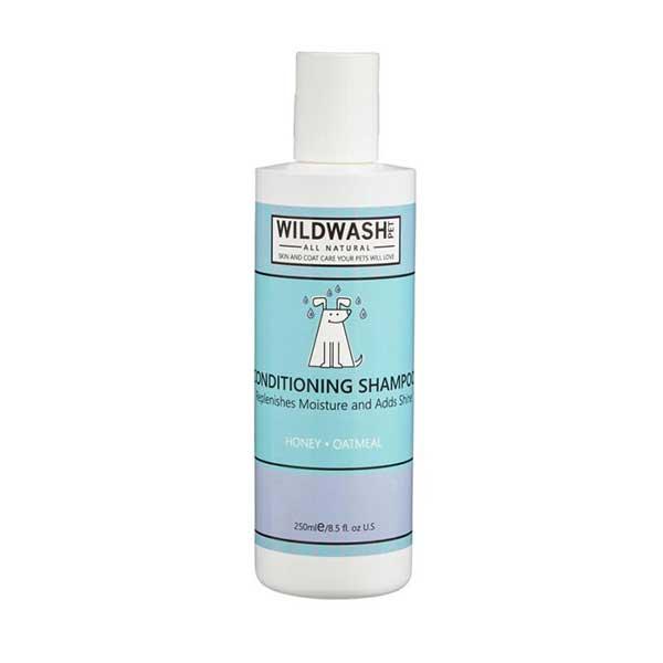 Wildwash-Šampon-Pet-hydratační-(med-a-ovesné-vločky)-250-ml