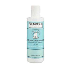 Wildwash Šampon Pet pro citlivou pokožku (aloe vera a měsíček lékařský) 250 ml