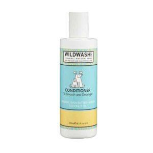 Wildwash Kondicionér Pet pro snadné rozčesávání a lesk (bambucké máslo a kokosový olej) 250 ml